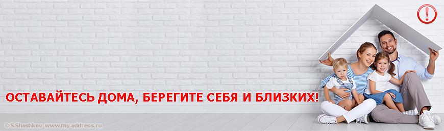 ОСТАВАЙТЕСЬ ДОМА, БЕРЕГИТЕ СЕБЯ И БЛИЗКИХ! Copyright © Шашков С.Г.