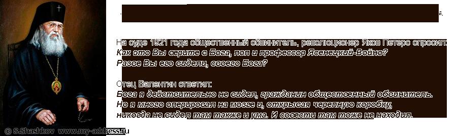 «Архиепископ Лука Крымский и Симферопольский. Copyright © Шашков С.Г.